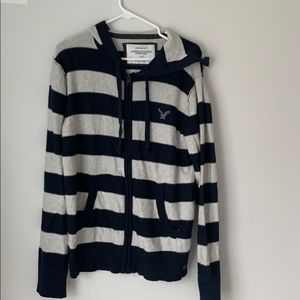 NWT American eagle knit zip jacket